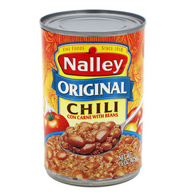 Nalley Nalley Original Chili With Beans, 15 oz, 12 ct