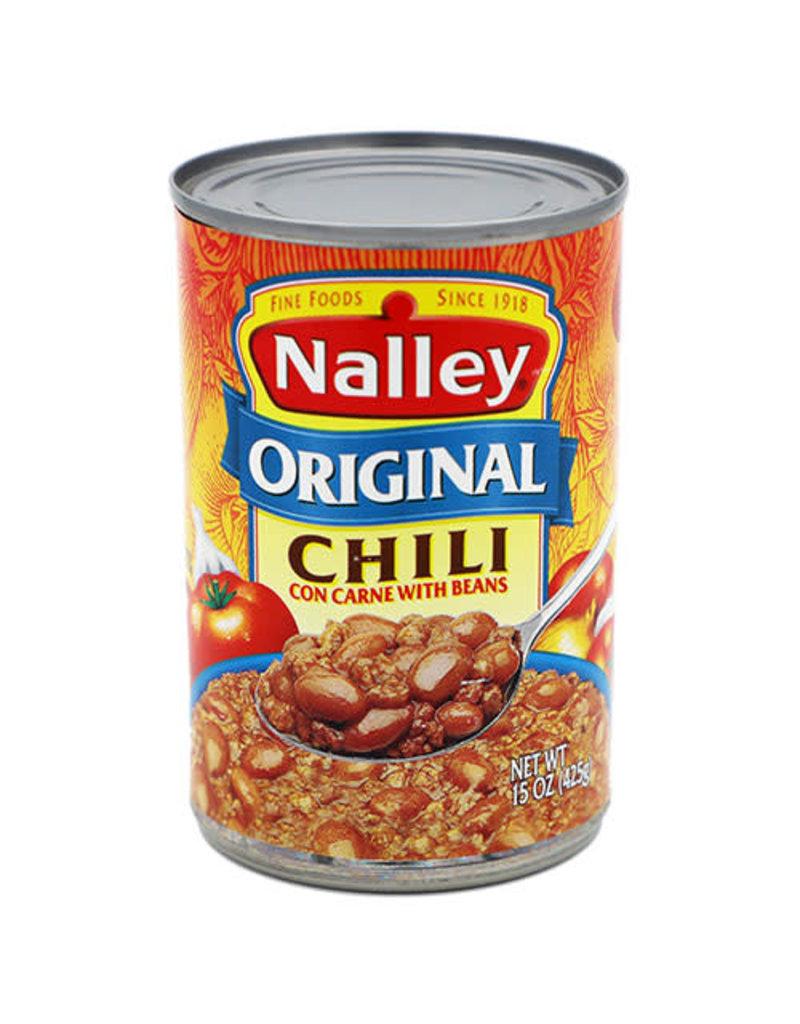 Nalley Nalley Original Chili With Beans, 15 oz, 12 ct