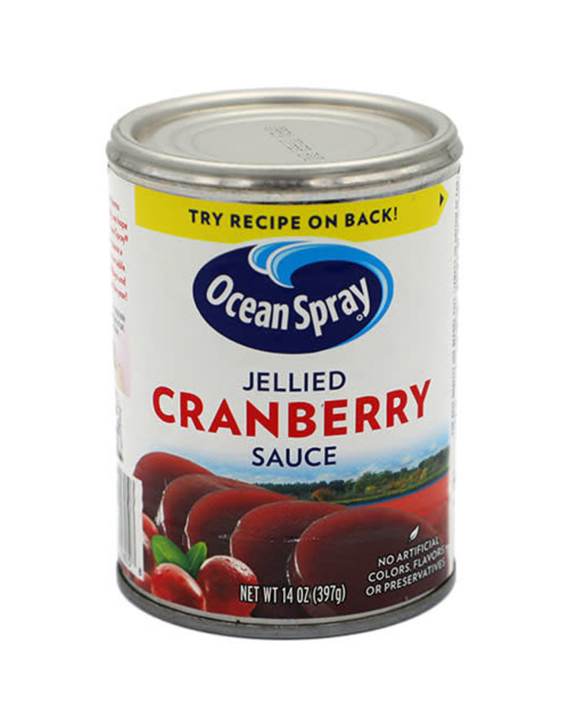 Ocean Spray Ocean Spray Jellied Cranberry Sauce, 14 oz, 24 ct