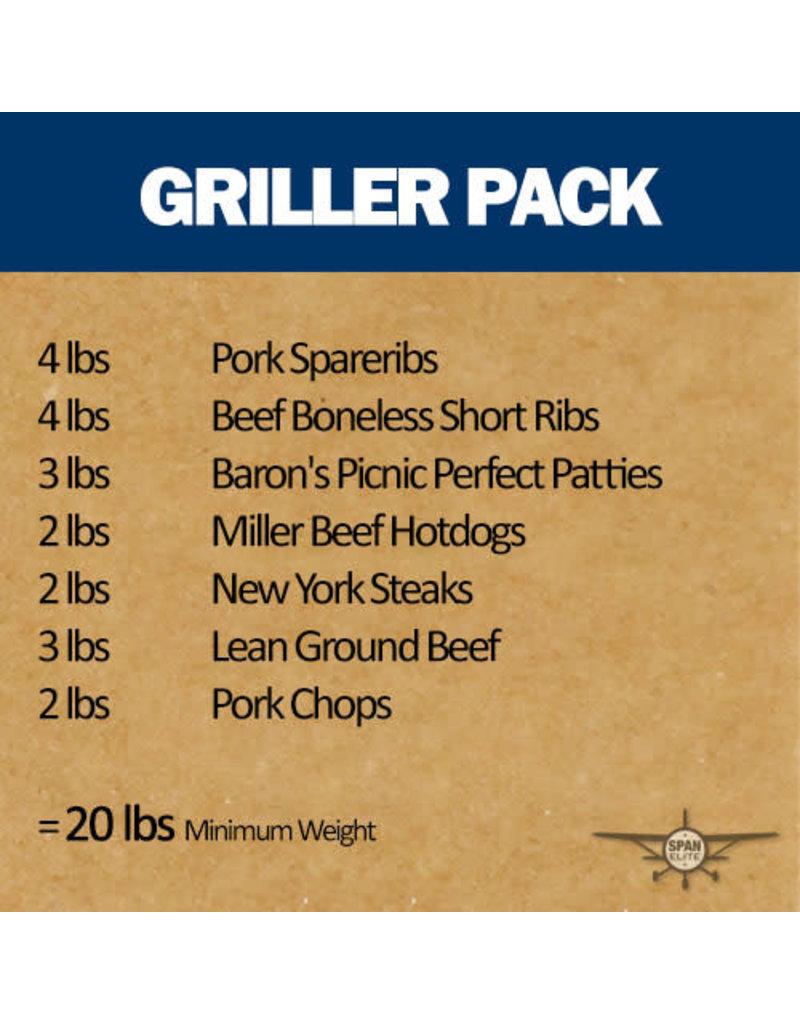 Griller Meat Pack, 20 lb