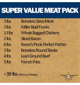 Super Value Meat Pack, 39 lb