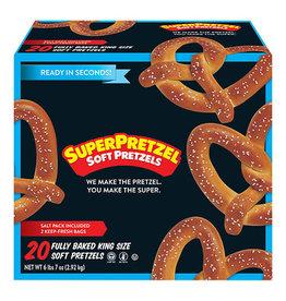 Super Pretzel Super Pretzel Soft King Size, 5 oz, 20 ct