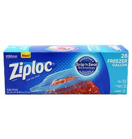 Ziploc Ziploc Gallon Freezer Bags, 28 ct (Pack of 9)