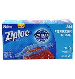 Ziploc Ziploc Quart Freezer Bags, 38 ct, 9 pack