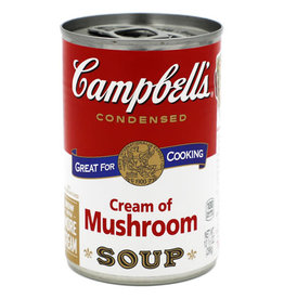 Campbell's Campbells Soup Cream Of Mushroom Condensed, 10.5 oz, 12 ct