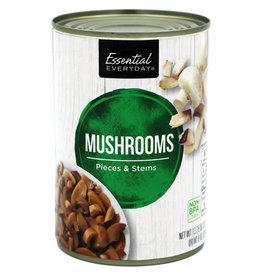 Essential Everyday EED Mushroom Pieces & Stems, 8 oz, 24 ct