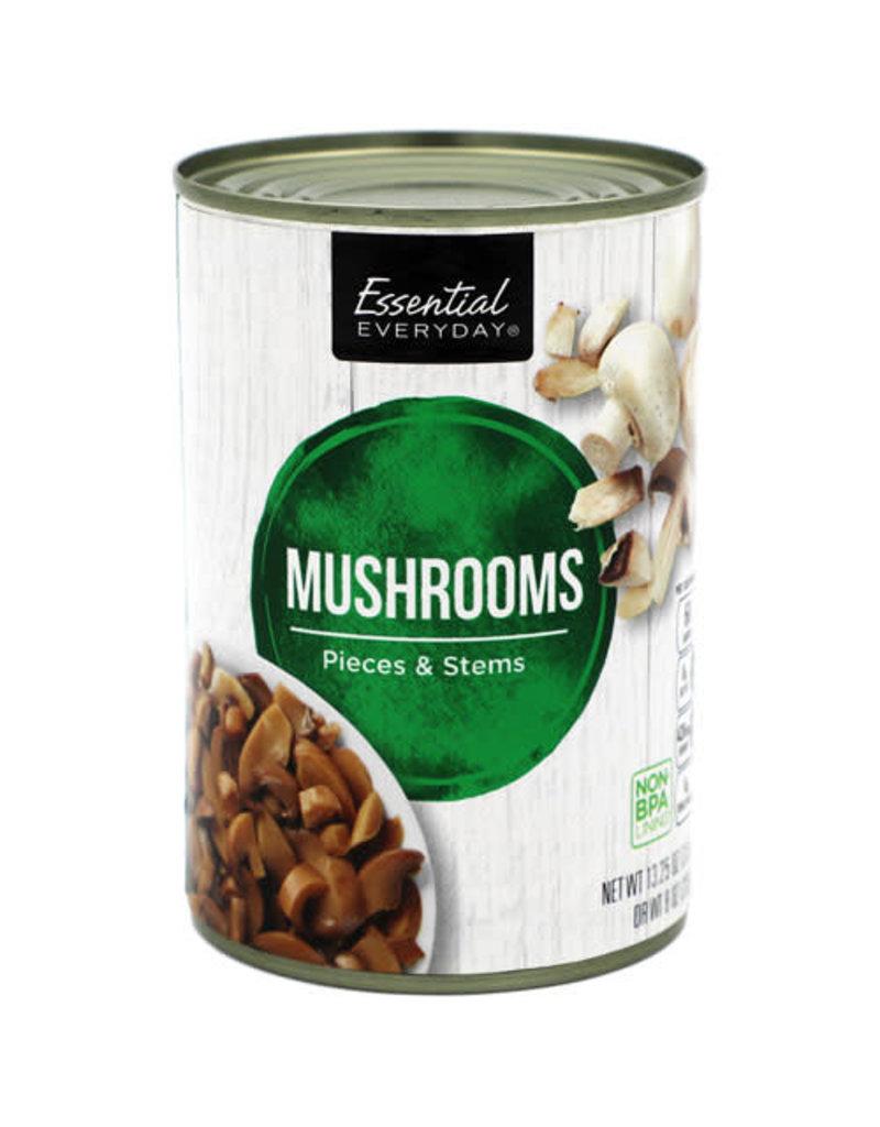 Essential Everyday EED Mushroom Pieces & Stems, 8 oz, 24 ct