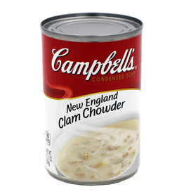 Campbell's Campbells Soup New England Clam Chowder, 10.75 oz, 12 ct