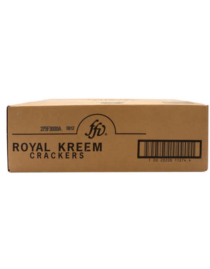 Royal Kreem FFV Royal Kreem Crackers Bulk, 13.5 lb