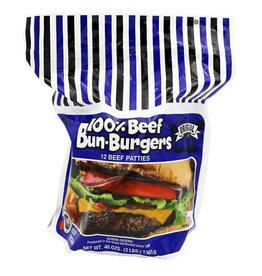 Baron's Barons 29% Fat 100% Beef Burger, 3 lb, 8 ct