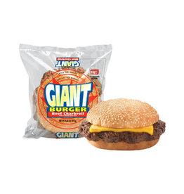 Big Az Big Az Giant Burger Beef Charbroil with Cheese, 8.9 oz, 10 ct