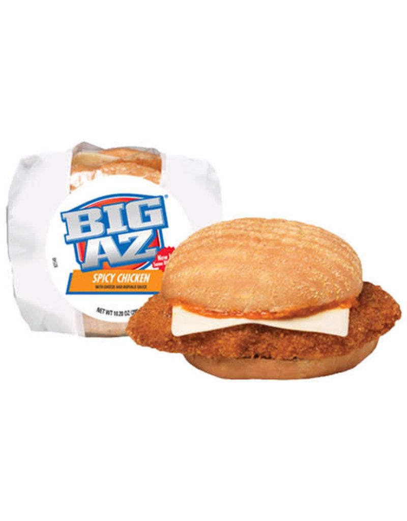 Big Az Big Az Spicy Chicken Sandwich with Cheese, 9.2 oz, 8 ct