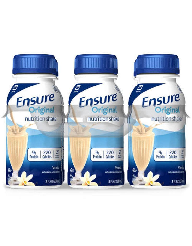 Ensure Original Nutrition Shake Vanilla, 6-8 oz