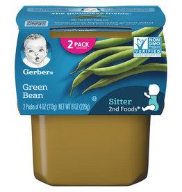Gerber Gerber 2nd Foods Green Beans, 8 oz, 8 ct