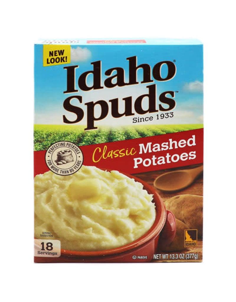 Idaho Spuds Idaho Spuds Mashed Potatoes, 13.3 oz, 12 ct