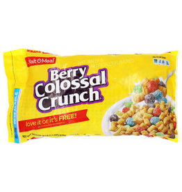 Malt-O-Meal Malt-O-Meal Berry Colossal Crunch Bag, 34.5 oz, 6 ct