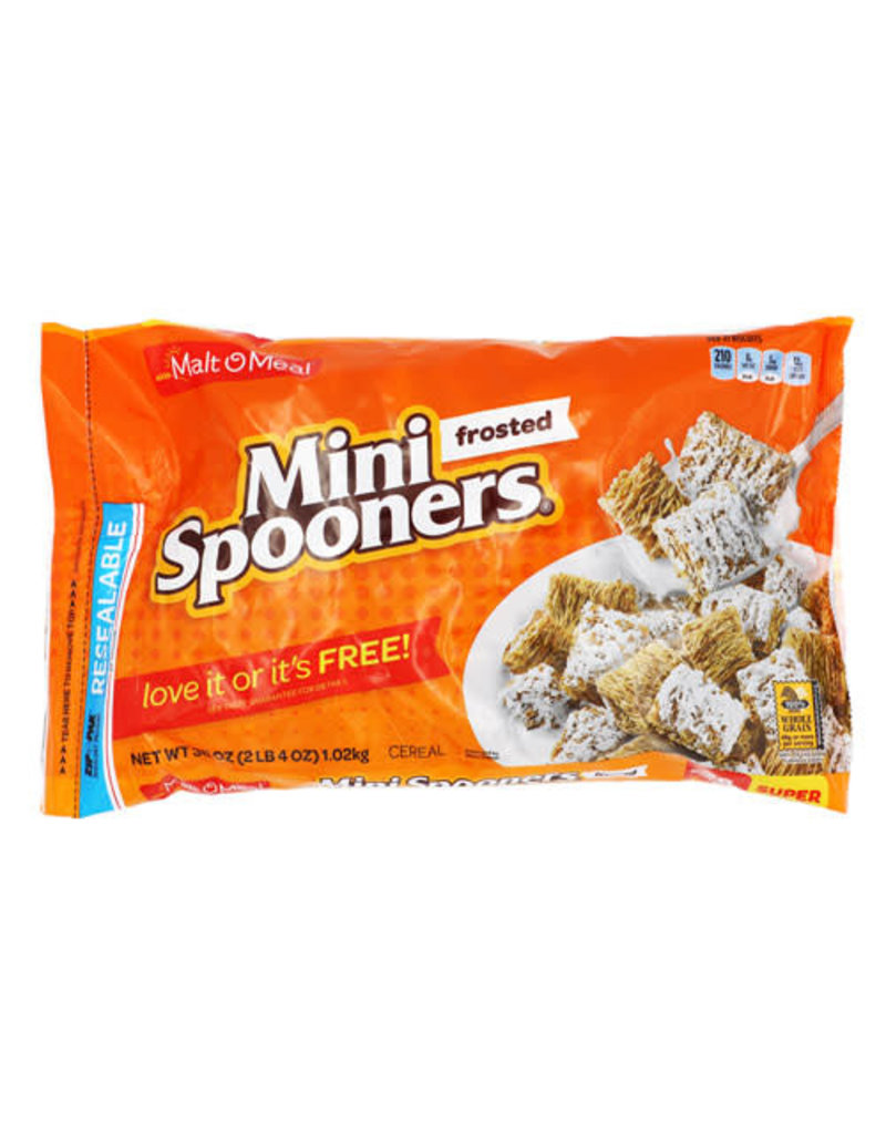 Malt-O-Meal Malt-O-Meal Frosted Mini Spooners Bag, 36 oz