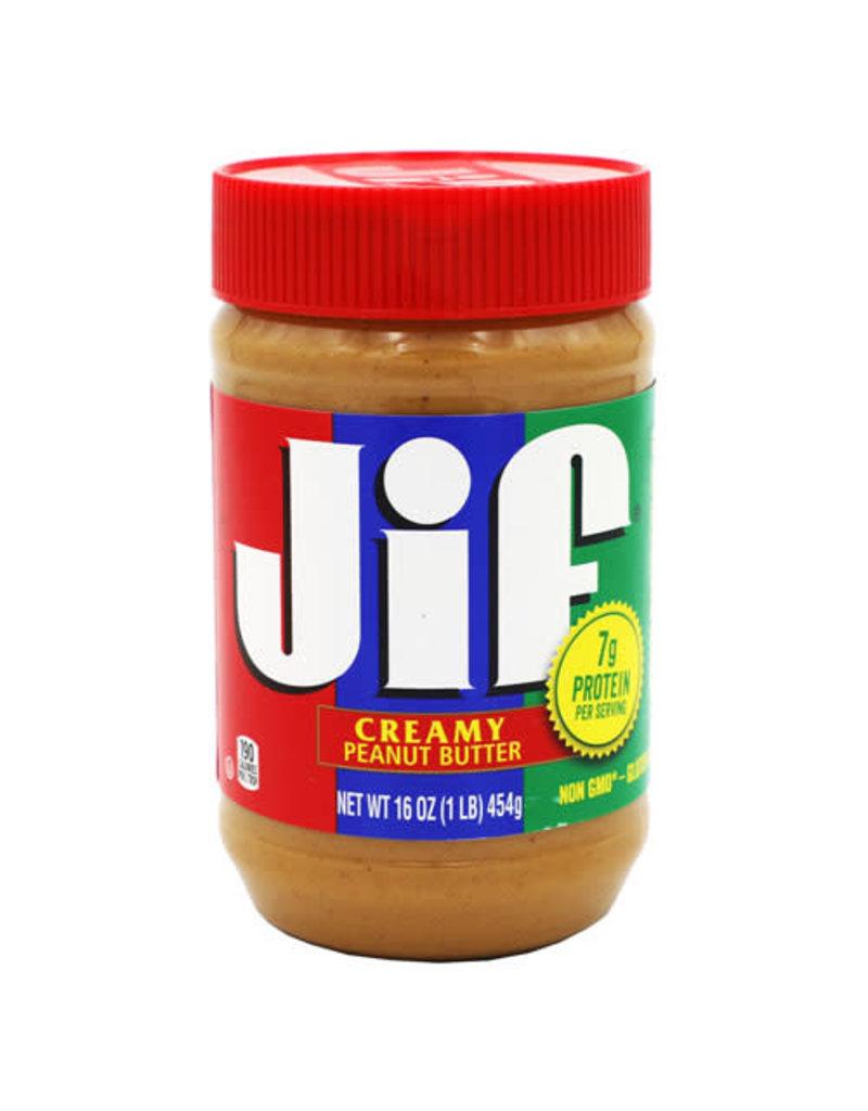 Jif Jif Creamy Peanut Butter, 16 oz