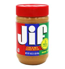 Jif Jif Creamy Peanut Butter, 16 oz, 12 ct