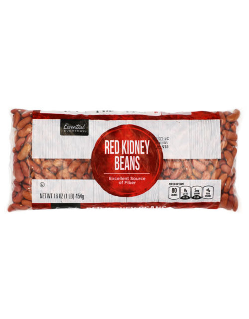Essential Everyday EED Red Kidney Beans, 16 oz, 12 ct