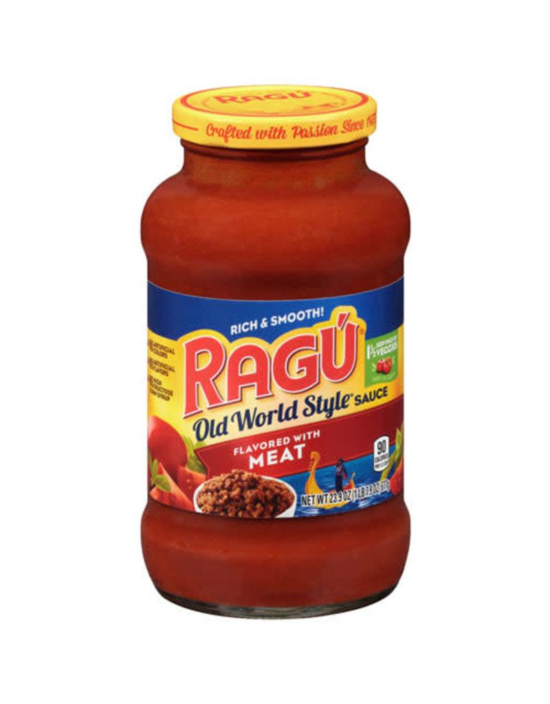 Ragu Ragu Meat Pasta Sauce, 23.9 oz, 12 ct