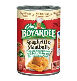 Chef Boyardee Chef Boyardee Spaghetti with Meatballs, 14.5 oz, 24 ct