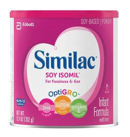 Similac Similac Soy Isomil Baby Formula, 12.4 oz, 6 ct