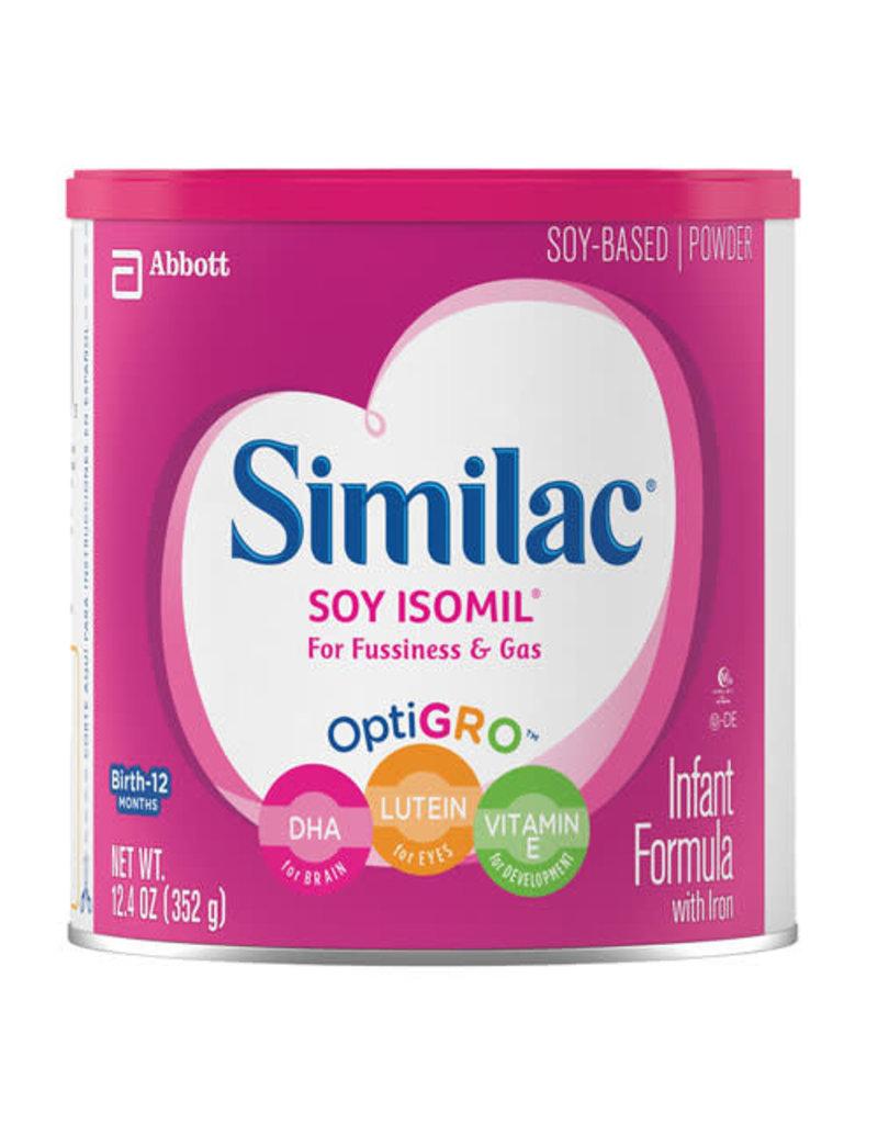 Similac Similac Soy Isomil Baby Formula, 12.4 oz