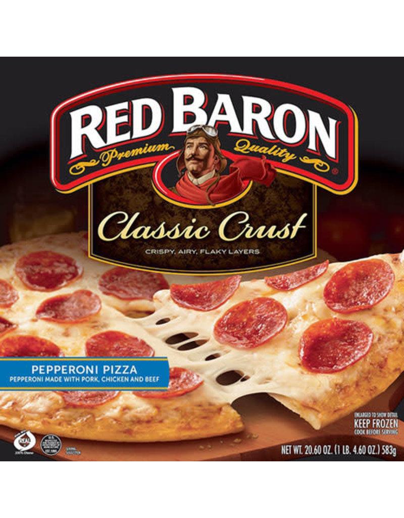 Red Baron Red Baron 12'' Pepperoni Pizza, 20.6 oz, 16 ct