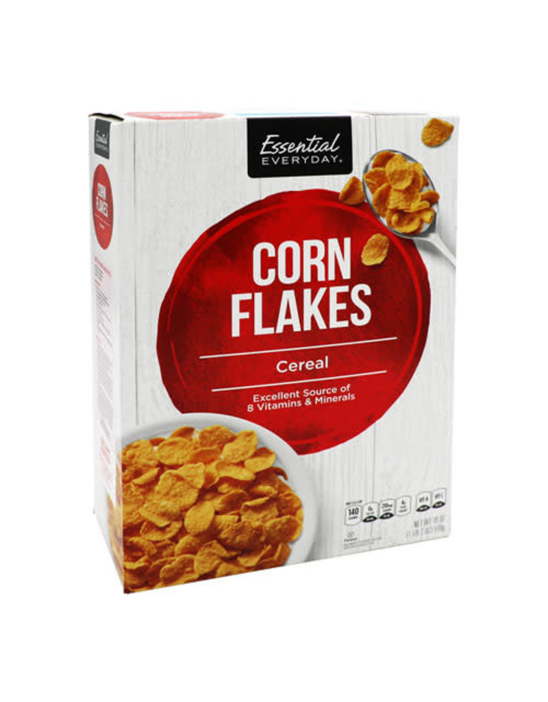 Essential Everyday EED Corn Flakes, 18 oz, 12 ct