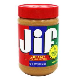 Jif Jif Creamy Peanut Butter, 28 oz, 10 ct