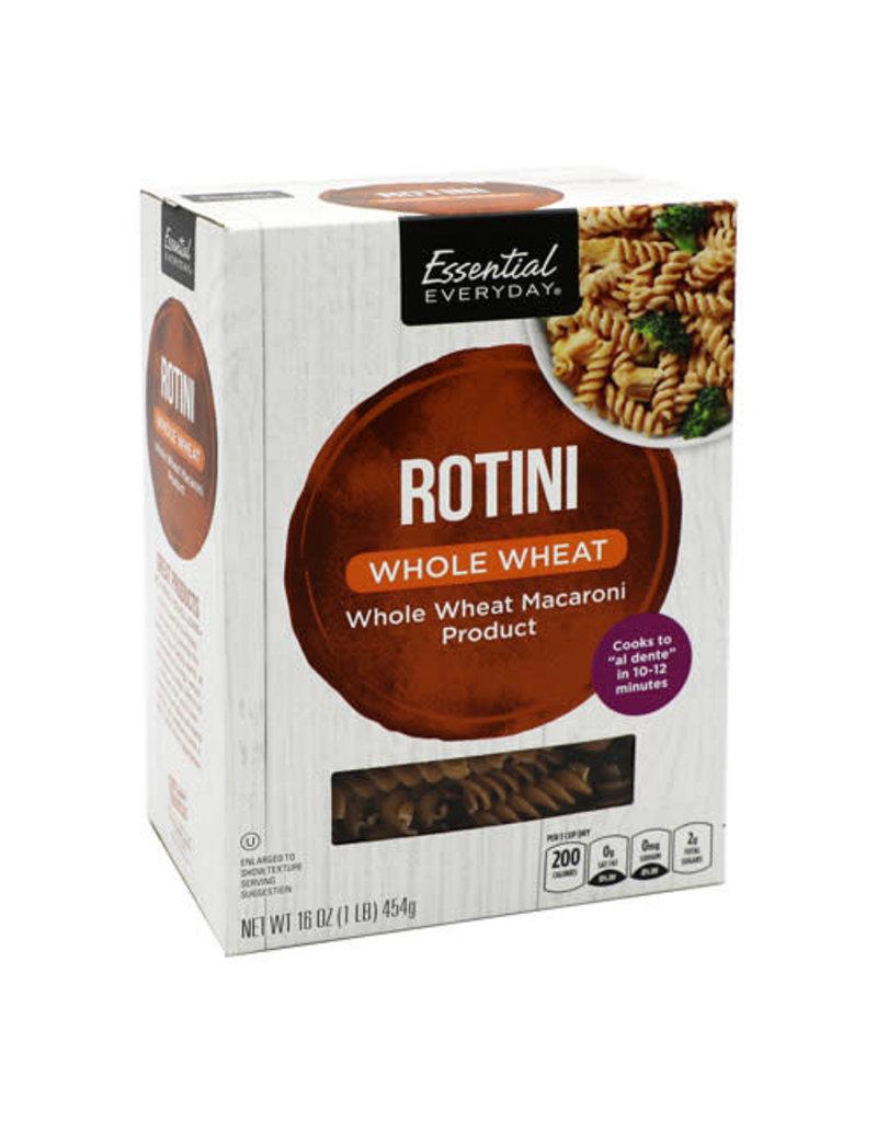 Essential Everyday EED Whole Wheat Rotini Pasta, 16 oz