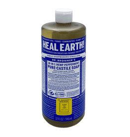 Dr Bronner Dr. Bronner Organic Hemp Peppermint Soap, 32 oz