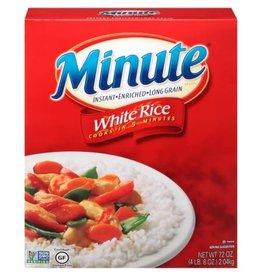 Minute Rice Minute Enriched Long Grain Instant Rice, 72 oz, 4 ct