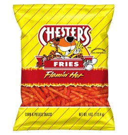 Cheetos Cheetos Chesters Flamin' Hot Fries, 4 oz, 20 ct