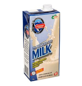 Gossner Gossner Shelf Stable 2% Milk, 32 oz, 12 ct