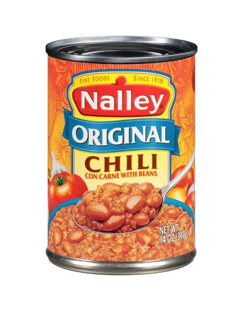 Nalley Nalley Original Chili With Beans, 14 oz, 24 ct