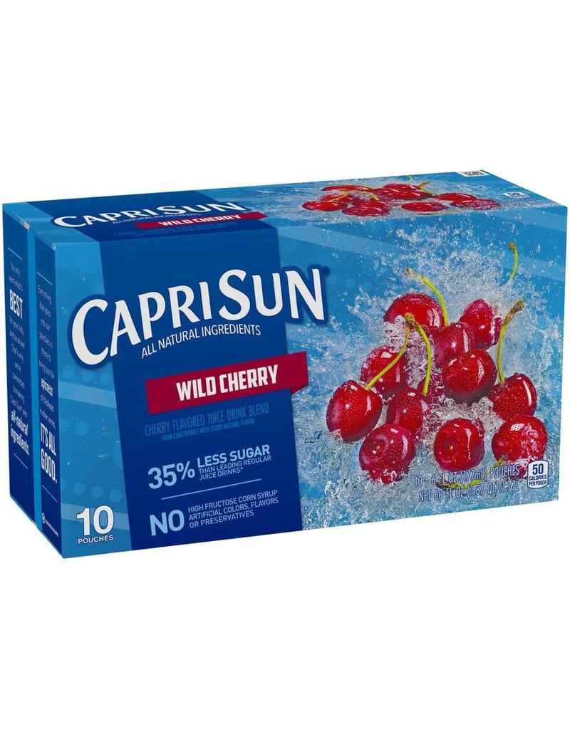 Capri Sun Capri Sun Wild Cherry, 10 ct (Pack of 4)