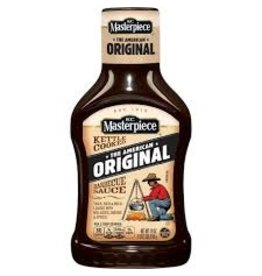 Kc Masterpiece KC Masterpiece Original BBQ Sauce, 18 oz, 6 ct