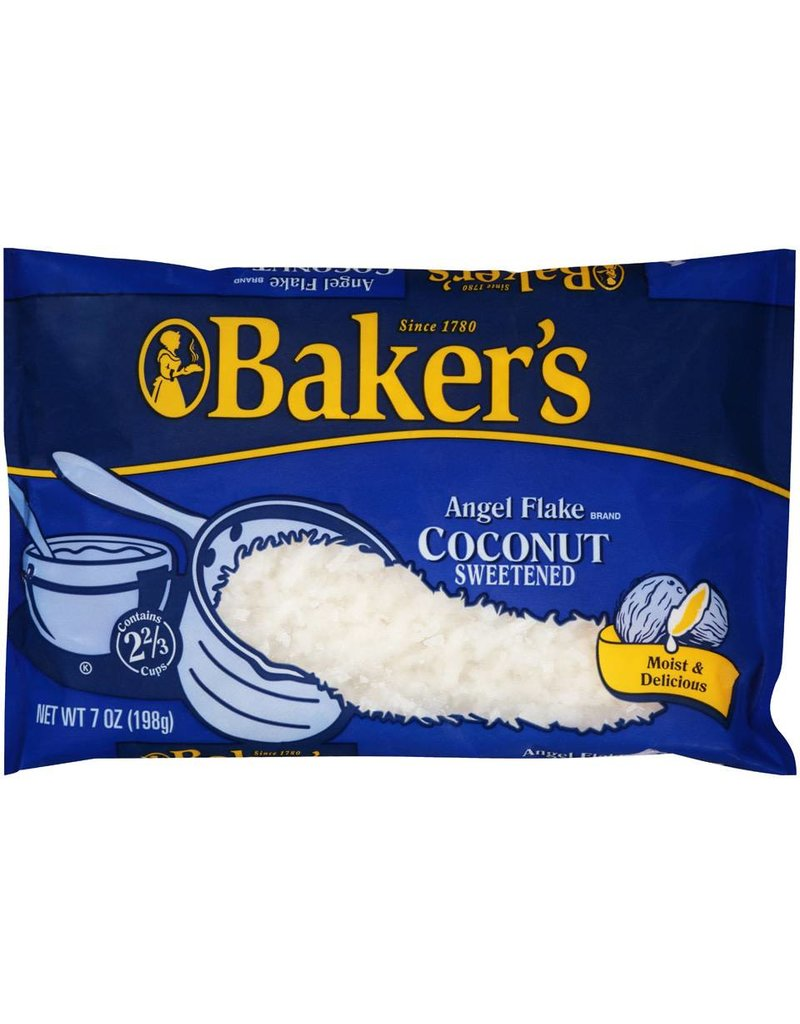 Baker's Baker's Coconut Angel Flake Bag, 7 oz, 10 ct
