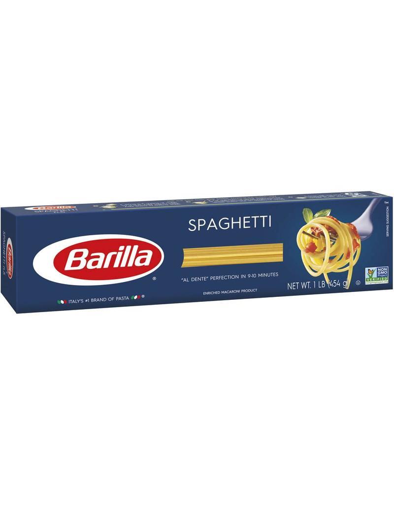 Barilla Barilla Spaghetti Long, 16 oz, 20 ct