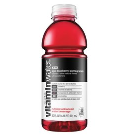 Vitaminwater Vitamin Water XXX, 20 oz, 12ct