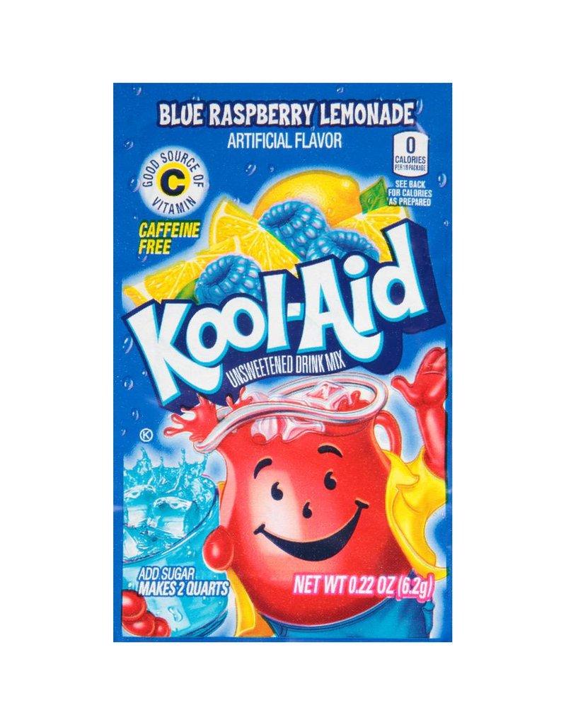 Kool-Aid Kool-Aid Ice Blue Raspberry (Makes 2 Quarts), 0 22 oz, 192 ct