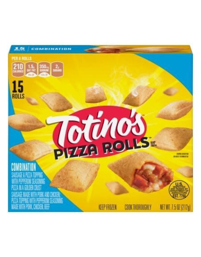 Totino's Totinos Pepperoni Pizza Rolls, 7.5 oz, 12 ct
