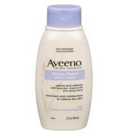 Aveeno Aveeno Body Wash Stress Relief, 12 oz, 3 ct