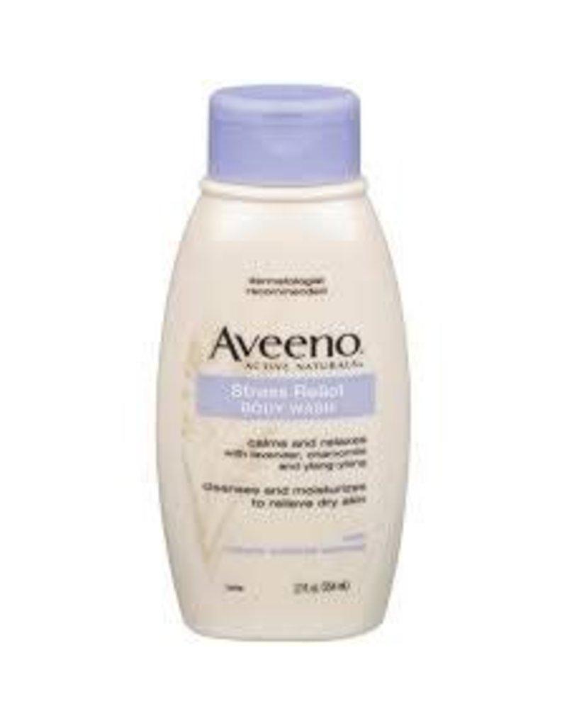 Aveeno Aveeno Body Wash Stress Relief, 12 oz, 3 ct