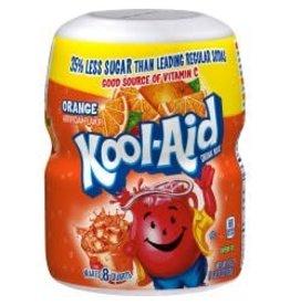 Kool-Aid Kool-Aid Orange (Makes 8 Quarts), 19 oz