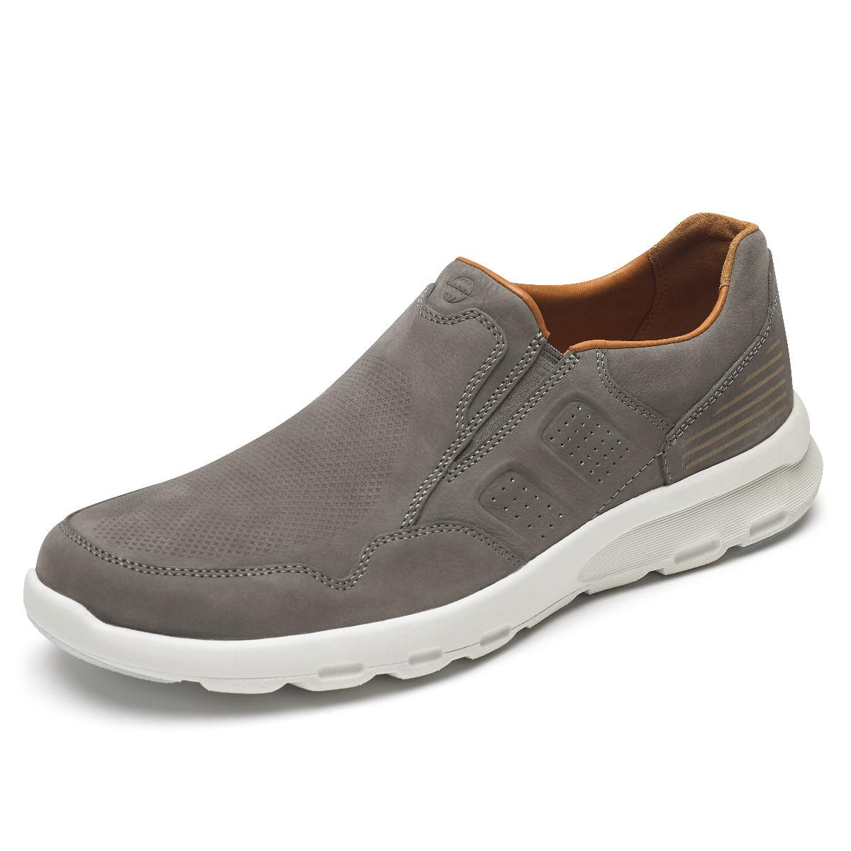 rockport slip on sneakers