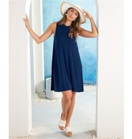 Mud Pie Alyssa Swing Dress Navy