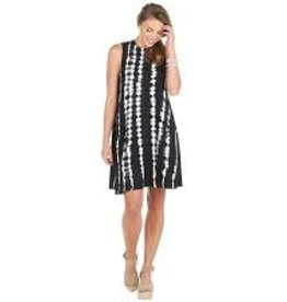 Mud Pie Alyssa Swing Dress Tie Dye